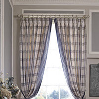 Curtains for Darling interiors Bath :)