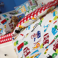Bedspreads, throws & cushions childrens room Bath