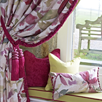 swags from Darling Interiors Bath